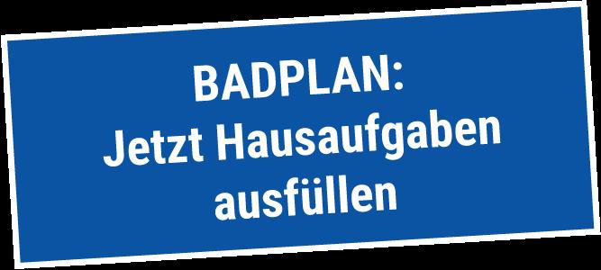 Badsanierung Lübeck - Bad Hausaufgaben